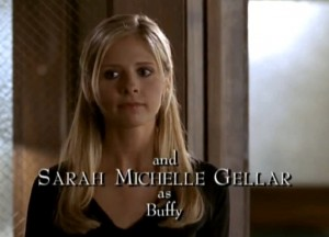 Buffy the Vampire Slayer (Screenshot copyright Twentieth Century Fox and used in accordance with Fair Use Laws)